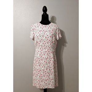 Brooks Brothers Floral Crepe Dress